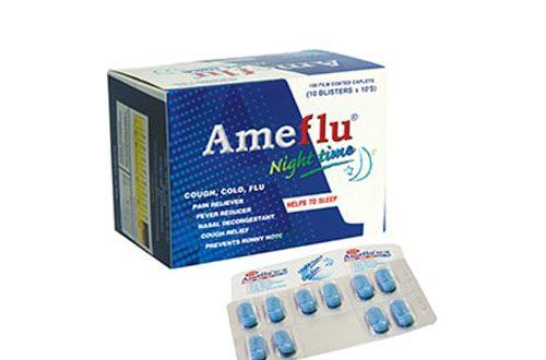 Thuốc ameflu night là thuốc gì? có tác dụng gì? giá bao nhiêu tiền?
