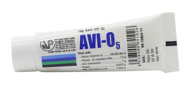 Kem avi o5 là thuốc gì? có tác dụng gì? giá bao nhiêu tiền?