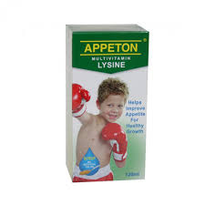 Thuốc APPETON Multivitamin Lysine Syrup 120ml là thuốc gì? có tác dụng gì? giá bao nhiêu tiền?