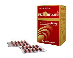 Thuốc mediphylamin 250mg là thuốc gì? có tác dụng gì? giá bao nhiêu tiền?