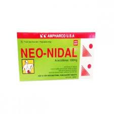 Thuốc neo nidal là thuốc gì? có tác dụng gì? giá bao nhiêu tiền?