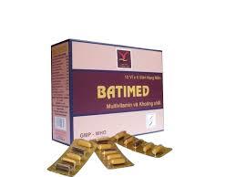 Thuốc batimed là thuốc gì? có tác dụng gì? giá bao nhiêu tiền?