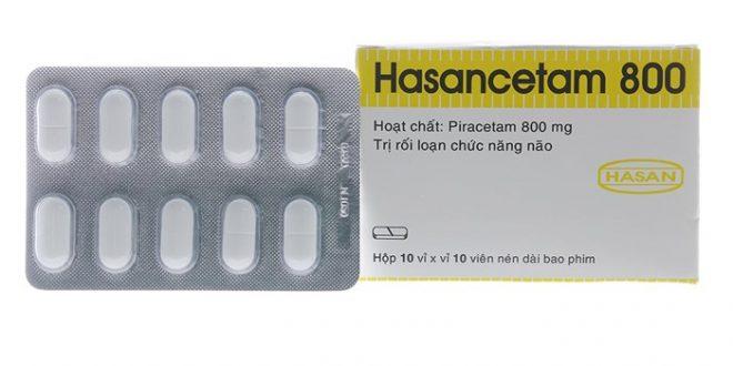 Thuốc hasancetam 800mg là thuốc gì? có tác dụng gì? giá bao nhiêu tiền?