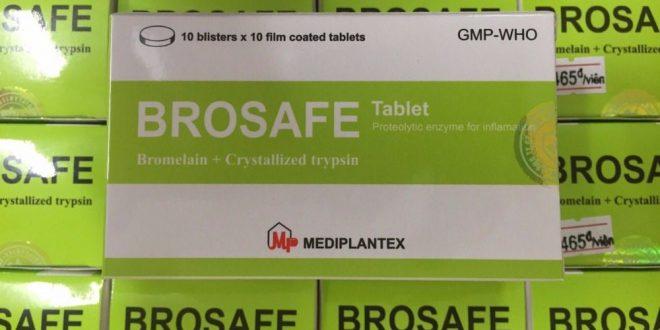 Thuốc brosafe là thuốc gì? có tác dụng gì? giá bao nhiêu tiền?