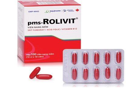 Thuốc pms rolivit là thuốc gì? có tác dụng gì? giá bao nhiêu tiền?