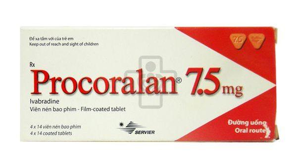 Thuốc procoralan 7.5mg là thuốc gì? có tác dụng gì? giá bao nhiêu tiền?