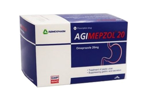 Thuốc agimepzol 20mg là thuốc gì? có tác dụng gì? giá bao nhiêu tiền?