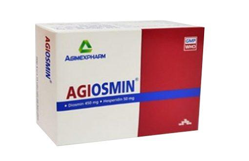 Thuốc agiosmin 500 là thuốc gì? có tác dụng gì? giá bao nhiêu tiền?