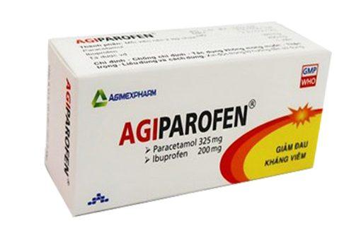 Thuốc agiparofen là thuốc gì? có tác dụng gì? giá bao nhiêu tiền?