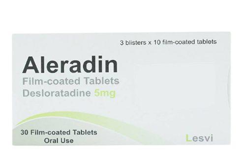 Thuốc aleradin 5mg là thuốc gì? có tác dụng gì? giá bao nhiêu tiền?