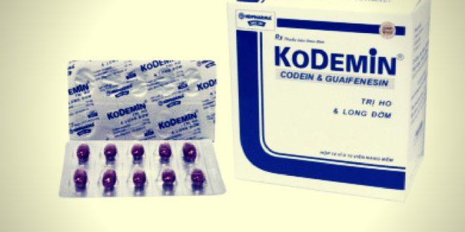 Thuốc kodemin là thuốc gì? có tác dụng gì? giá bao nhiêu tiền?