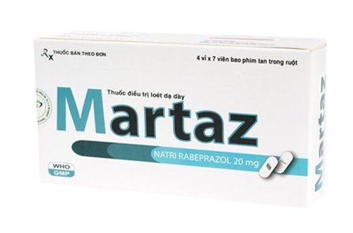 Thuốc martaz 20mg là thuốc gì? có tác dụng gì? giá bao nhiêu tiền?