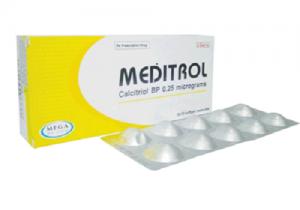 Thuốc meditrol 0.25mcg là thuốc gì? có tác dụng gì? giá bao nhiêu tiền?