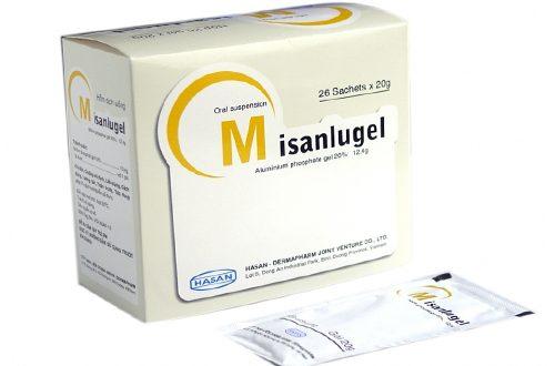 Thuốc misanlugel 20g là thuốc gì? có tác dụng gì? giá bao nhiêu tiền?