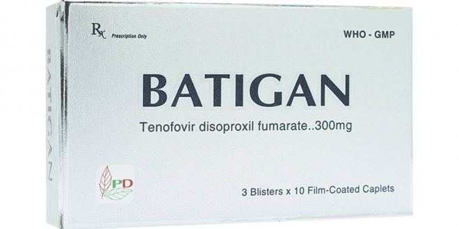 Thuốc batigan là thuốc gì? có tác dụng gì? giá bao nhiêu tiền?