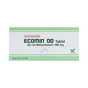 Thuốc ecomin od là thuốc gì? có tác dụng gì? giá bao nhiêu tiền?