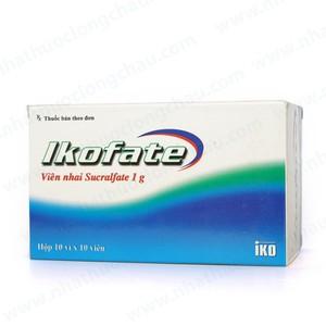 Thuốc ikofate 1g là thuốc gì? có tác dụng gì? giá bao nhiêu tiền?