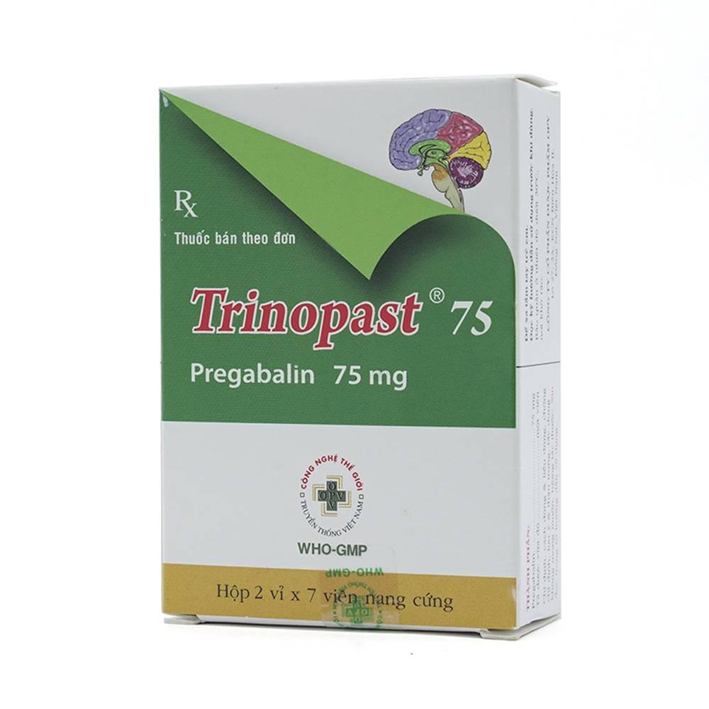 Thuốc trinopast 75mg là thuốc gì? có tác dụng gì? giá bao nhiêu tiền?