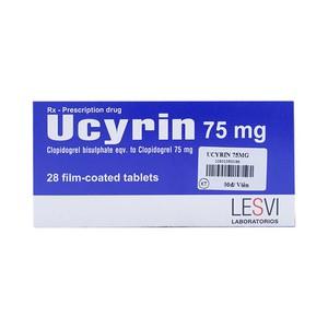 Thuốc ucyrin 75mg là thuốc gì? có tác dụng gì? giá bao nhiêu tiền?