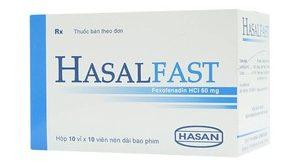 Thuốc hasalfast 60mg là thuốc gì? có tác dụng gì? giá bao nhiêu tiền?