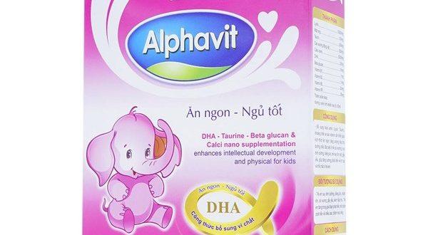 Alphavit Ăn Ngon Ngủ Tốt là thuốc gì? có tác dụng gì? giá bao nhiêu tiền?