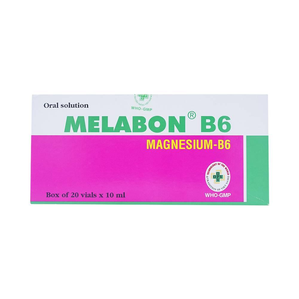 Thuốc melabon b6 10ml là thuốc gì? có tác dụng gì? giá bao nhiêu tiền?
