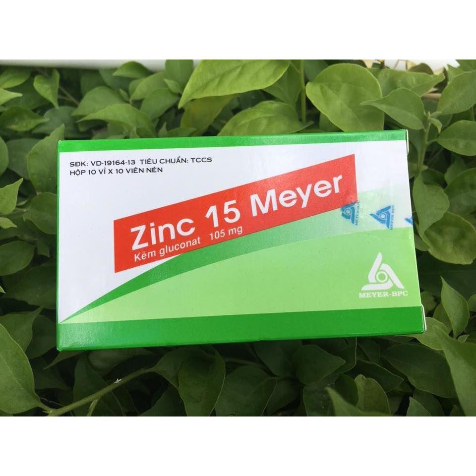 Thuốc zinc 15 meyer là thuốc gì? có tác dụng gì? giá bao nhiêu tiền?