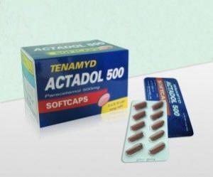 Thuốc tenamyd actadol 500 là thuốc gì? có tác dụng gì? giá bao nhiêu tiền?
