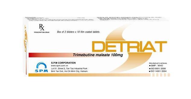 Thuốc detriat 100 là thuốc gì? có tác dụng gì? giá bao nhiêu tiền?