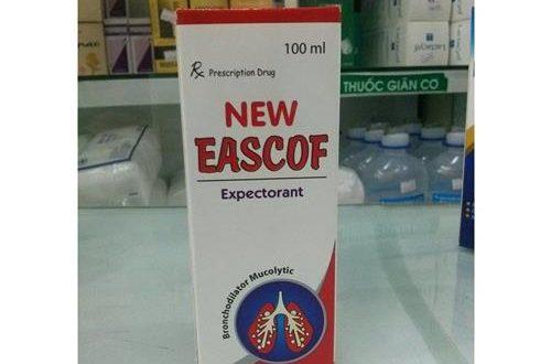 Thuốc new eascof 100ml là thuốc gì? có tác dụng gì? giá bao nhiêu tiền?