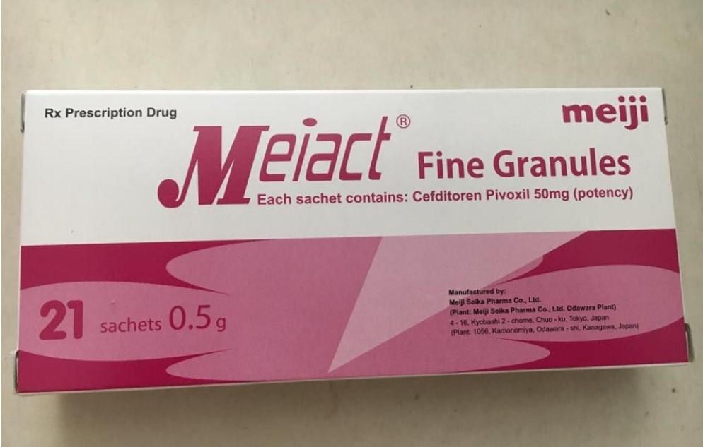 Thuốc meiact 50 là thuốc gì? có tác dụng gì? giá bao nhiêu tiền?