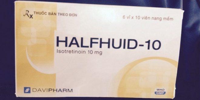 Thuốc halfhuid 10 là thuốc gì? có tác dụng gì? giá bao nhiêu tiền?