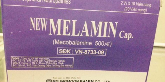 Thuốc melamin 500 là thuốc gì? có tác dụng gì? giá bao nhiêu tiền?