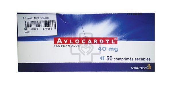 Thuốc avlocardyl 40mg là thuốc gì? có tác dụng gì? giá bao nhiêu tiền?