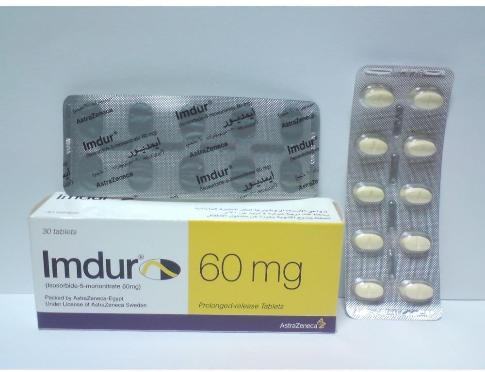 Thuốc imdur 60 là thuốc gì? có tác dụng gì? giá bao nhiêu tiền?