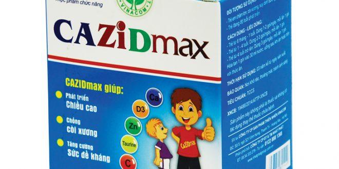 Thuốc cazidmax là thuốc gì? có tác dụng gì? giá bao nhiêu tiền?