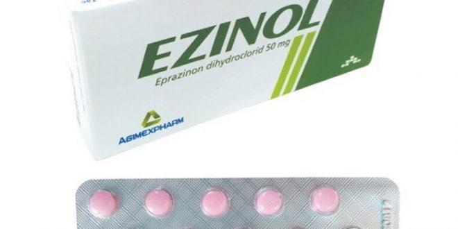 Thuốc ezinol 50 là thuốc gì? có tác dụng gì? giá bao nhiêu tiền?