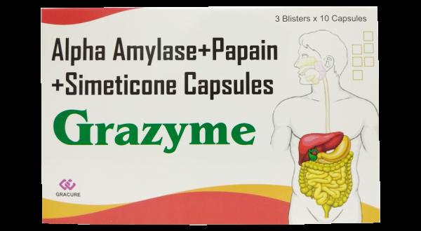 Thuốc grazyme là thuốc gì? có tác dụng gì? giá bao nhiêu tiền?