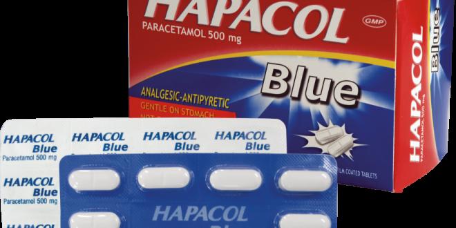 Thuốc hapacol 500mg blue là thuốc gì? có tác dụng gì? giá bao nhiêu tiền?