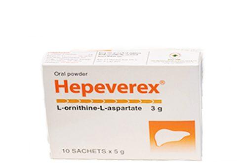 Thuốc hepeverex là thuốc gì? có tác dụng gì? giá bao nhiêu tiền?
