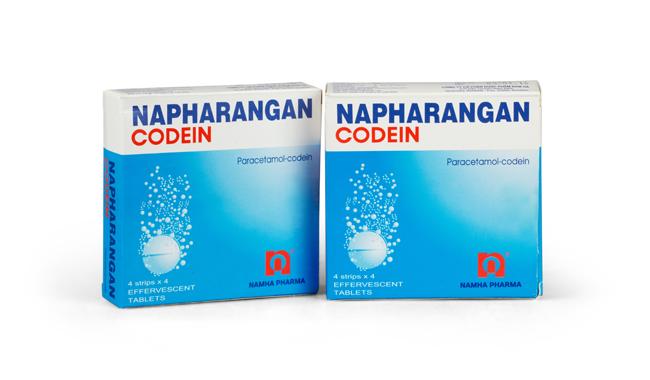 Thuốc napharangan codein là thuốc gì? có tác dụng gì? giá bao nhiêu tiền?