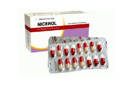 Thuốc nicerol 2.5mg là thuốc gì? có tác dụng gì? giá bao nhiêu tiền?