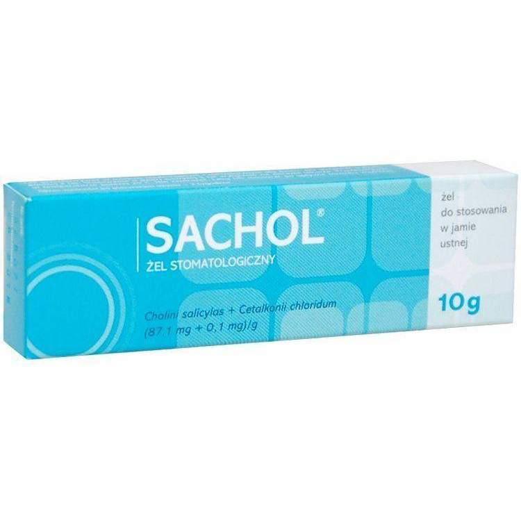 Thuốc sachol gel 10g là thuốc gì? có tác dụng gì? giá bao nhiêu tiền?