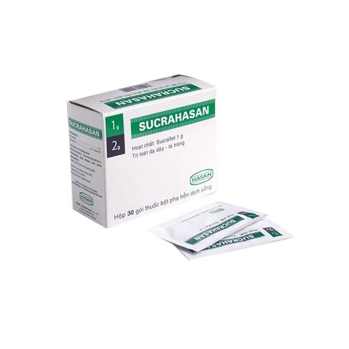 Thuốc Sucrahasan gel 5ml là thuốc gì? có tác dụng gì? giá bao nhiêu tiền?