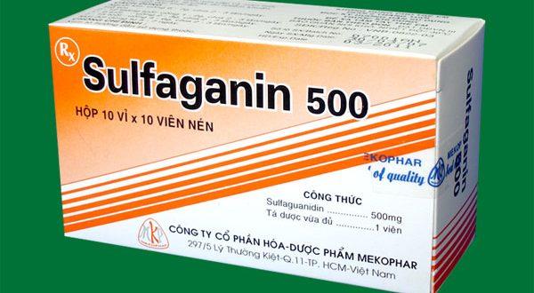 Thuốc sulfaganin 500mg là thuốc gì? có tác dụng gì? giá bao nhiêu tiền?