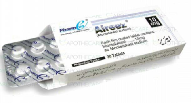 Thuốc aireez 10mg là thuốc gì? có tác dụng gì? giá bao nhiêu tiền?