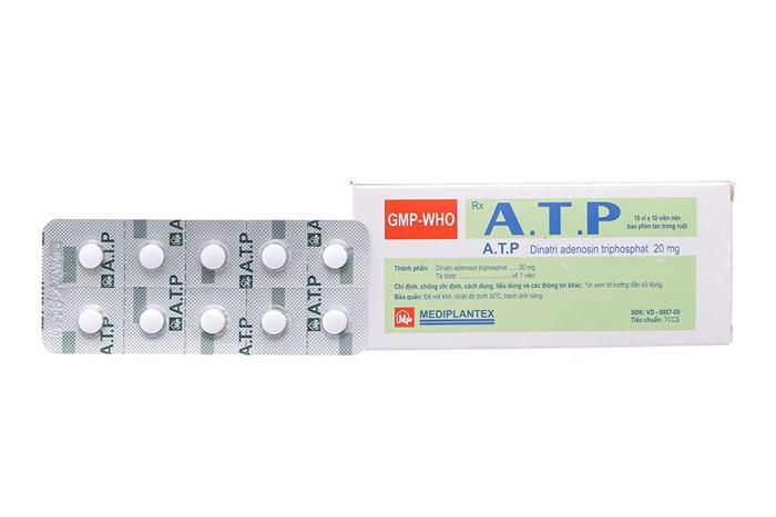 Thuốc atp 20mg là thuốc gì? có tác dụng gì? giá bao nhiêu tiền?