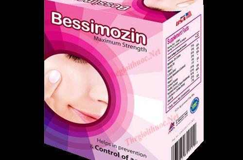 Thuốc bessimozin là thuốc gì? có tác dụng gì? giá bao nhiêu tiền?
