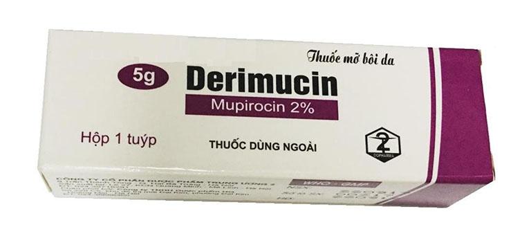 Thuốc derimucin 100mg/5g là thuốc gì? có tác dụng gì? giá bao nhiêu tiền?