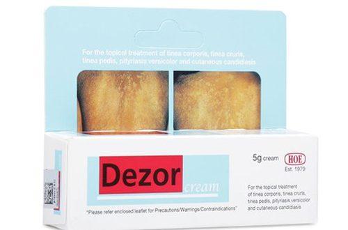 Thuốc dezor cream 15g là thuốc gì? có tác dụng gì? giá bao nhiêu tiền?